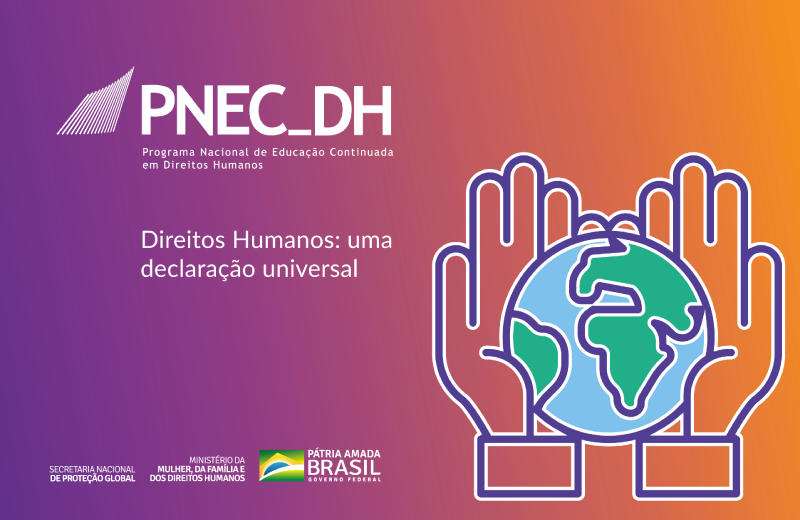 Logo do Curso Direitos Humanos: Uma Declaração Universal