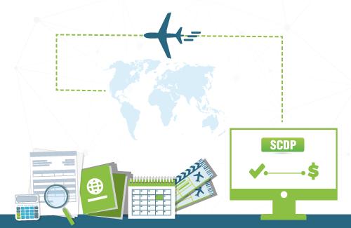 Logo do Curso SCDP - Aprovação e Pagamento