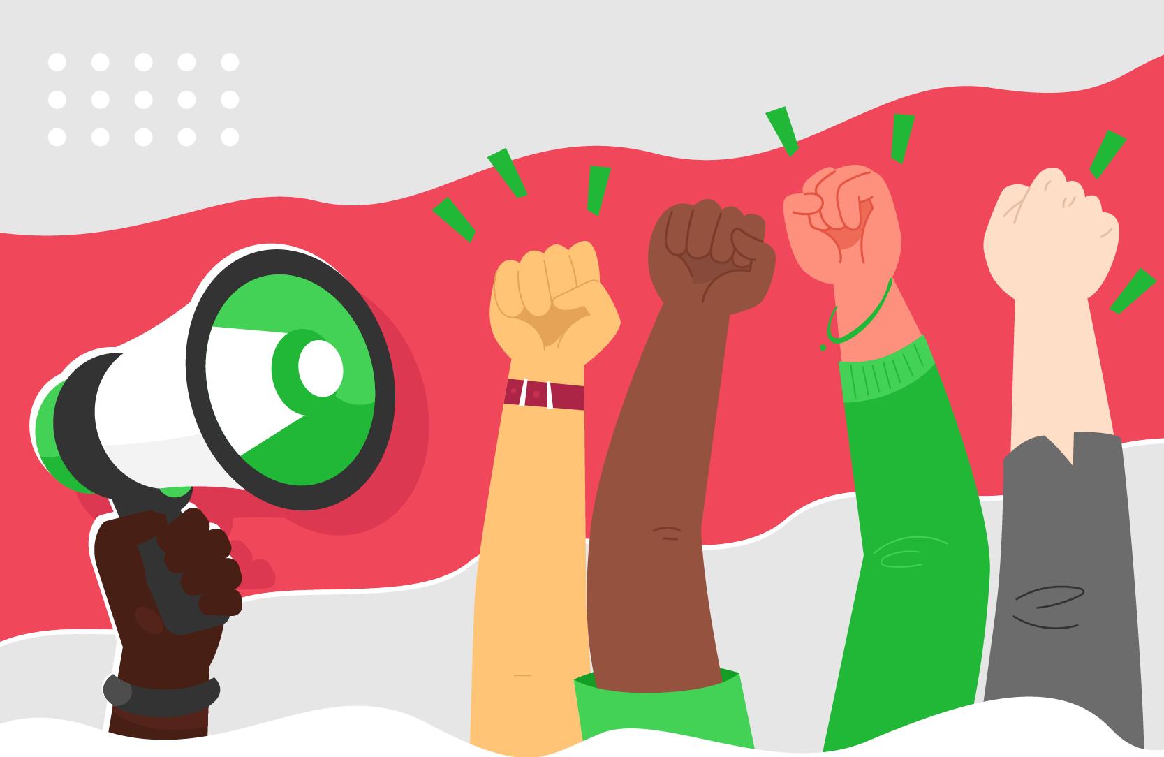 Logo do Curso Direito à Identidade, Cidadania e Documentação