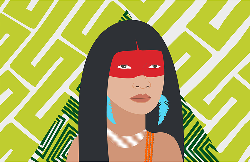 Logo do Curso Acesso aos direitos fundamentais: uma abordagem da pauta indígena