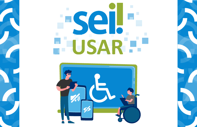 Logo do Curso SEI! Usar para Deficientes Visuais