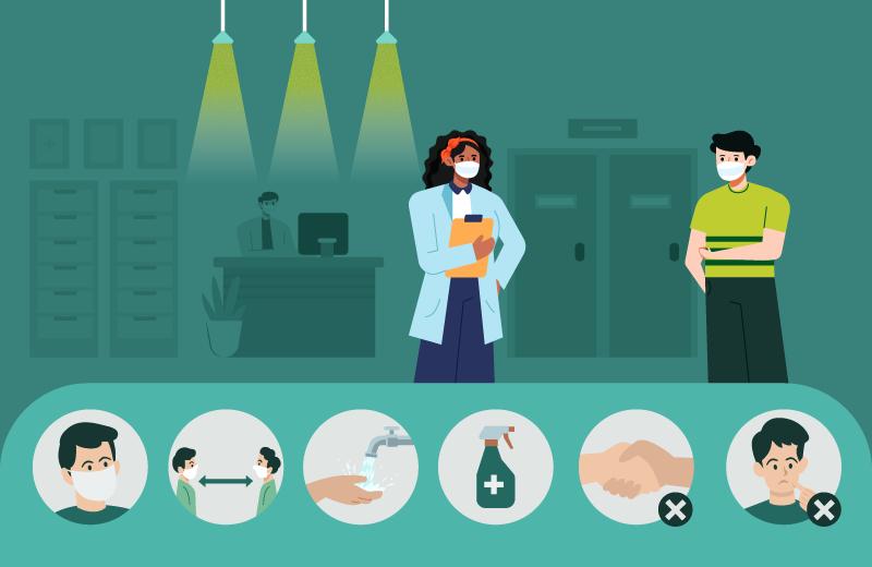 Logo do Curso Protocolos Sanitários Preventivos contra novo Coronavírus