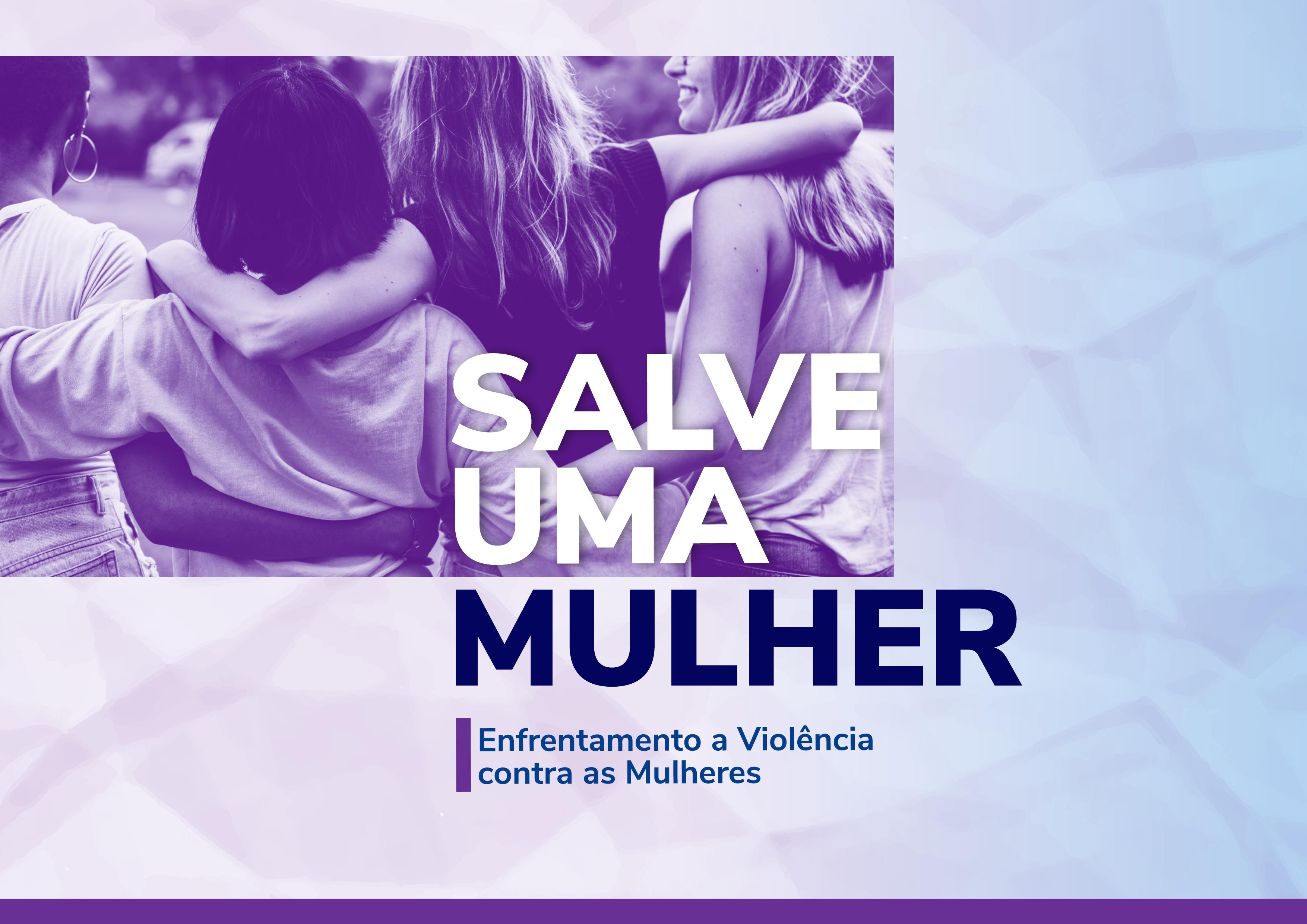 Logo do Curso Salve uma Mulher