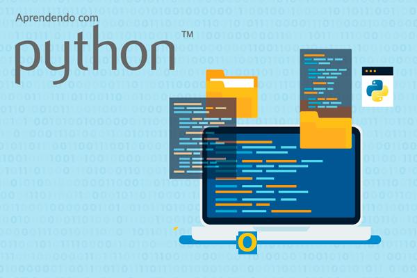 Logo do Curso Aprendendo com Python