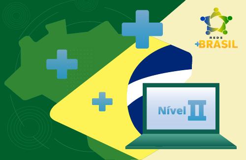 Logo do Programa Multiplicadores - Plataforma +Brasil - Nível II